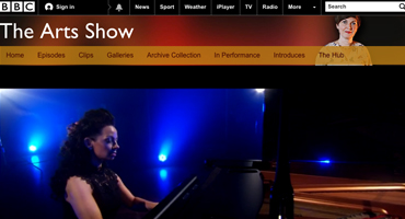 Ruth McGinley Classical Pianist BBC arts show